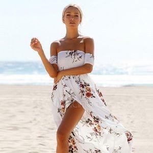 Dresses & Skirts - The Fray Vintage Floral Beach Dress